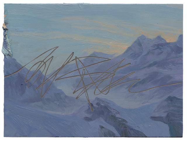 Ruprecht von Kaufmann, 'Berglandschaft', 2019, Galerie Thomas Fuchs