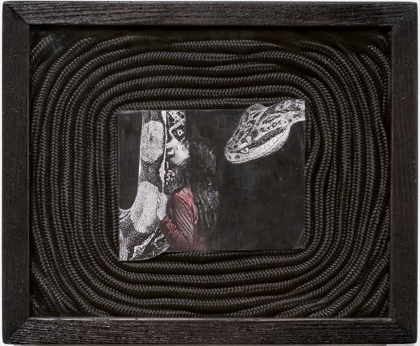 , 'Night Hunter Shadow Box #2,' 2011, Anita Beckers