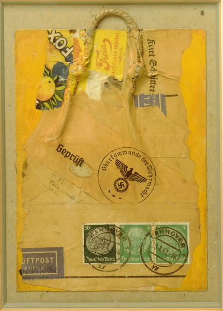 Kurt Schwitters, 'Geprüft (Inspected)', 1940, San Francisco Museum of Modern Art (SFMOMA)