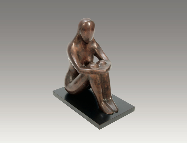 , 'Seated Woman,' , Robert Hooke Sculpture Gallery