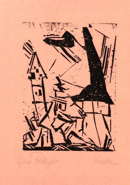 , 'Masken (Masks),' 1920, Moeller Fine Art