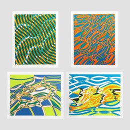 Stanley William Hayter, 'Untitled 1-4, from the Aquarius Suite (four works),' 1970, Heritage Auctions: Holiday Prints & Multiples Sale