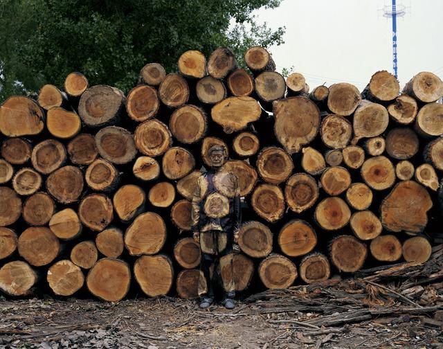 Liu Bolin, 'Hiding in the City - n° 88 - Sawmill - 6/8', 2010, art&emotion Fine Art Gallery