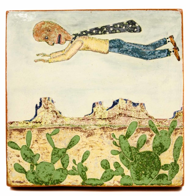 , 'Flying Over Cactus,' 2017, form & concept