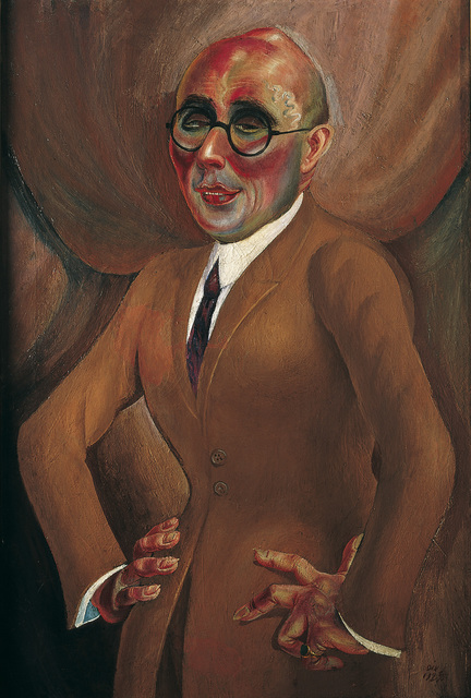 , 'The Jeweller Karl Krall (Der Juwelier Karl Krall),' 1923, Los Angeles County Museum of Art