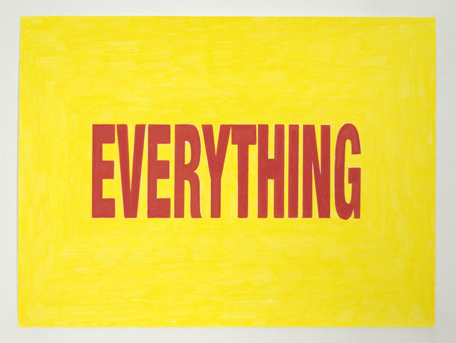 , 'Everything,' 2010, VICTORI+MO CONTEMPORARY