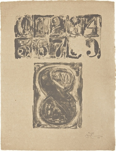 , '0-9: Plate 8,' 1963, Contessa Gallery