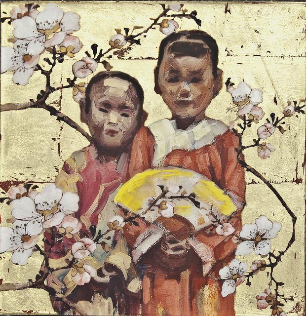 Hung Liu, 'Mission Girls Series  (I) 03-1', 2013, Nancy Hoffman Gallery