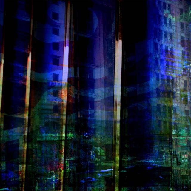 , 'Night View 1,' 2010, Newzones