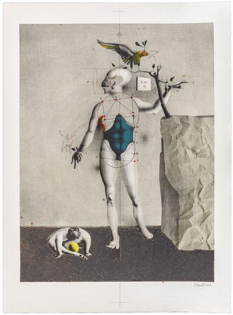 Paul Wunderlich, 'Selbst als Adam mit Anton und Adler', 1974, ArtRite