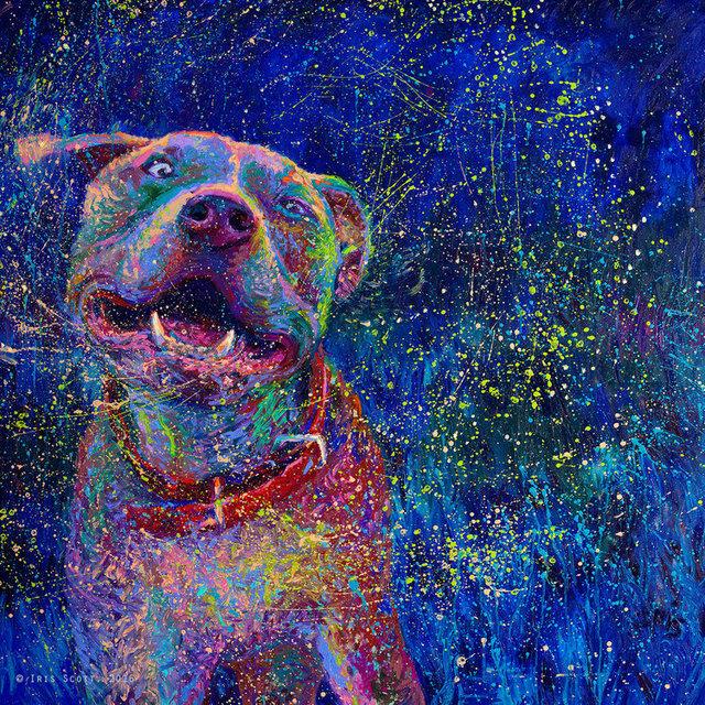 , 'Blue Chakra,' 2017, Adelman Fine Art