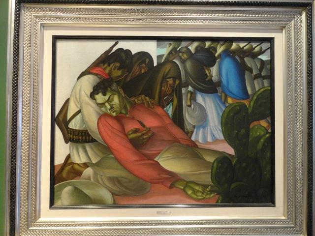 """, '""""El muro blanco"""",' 1950, GALERÍAS A. CRISTOBAL"""