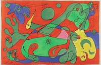 Joan Miró, X. Ubu Roi: La Guerre