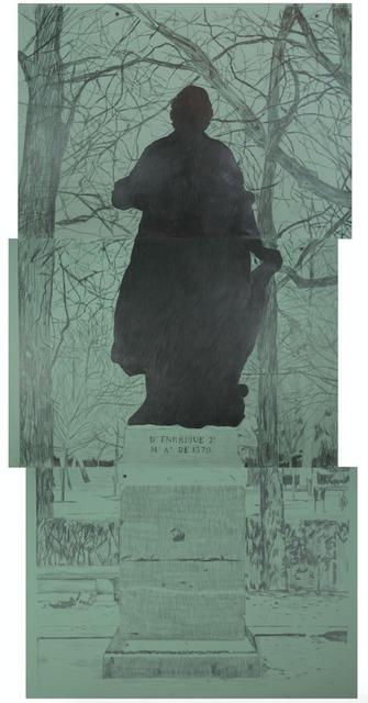 , 'Monumento Sombra,' 2015, Galería de la Oficina