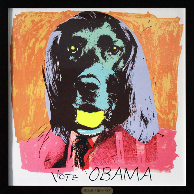 , 'Vote Obama,' 2012, Robert Berman Gallery