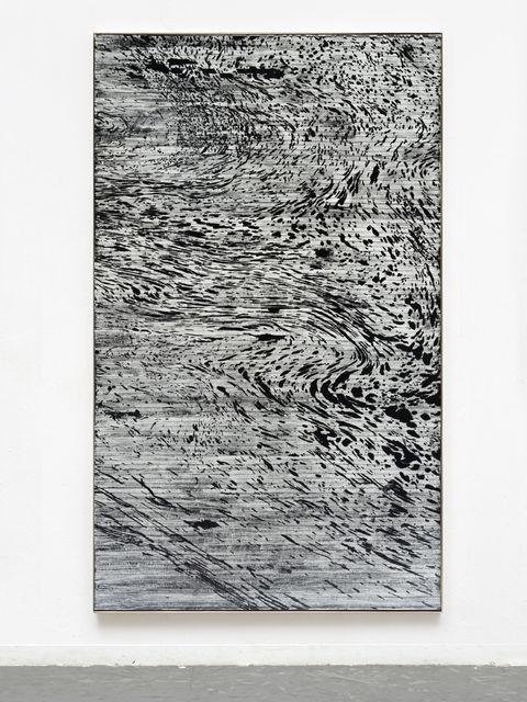 """Gregor Hildebrandt, '""""20 000 Meilen""""', 2019, Almine Rech"""