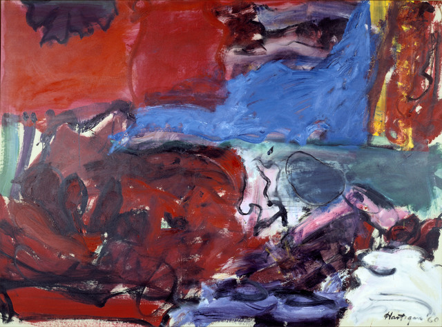 , 'New York City Rhapsody,' 1960, Denver Art Museum