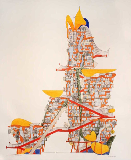 , 'Finchley Road 3-Tower of Wings,' 1993, Gallery Espace