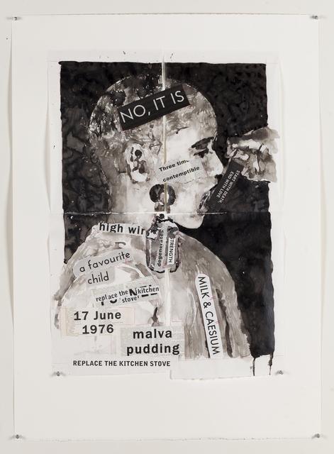 , ' Pavlov's Patient (Malva Pudding),,' 2017, Marian Goodman Gallery