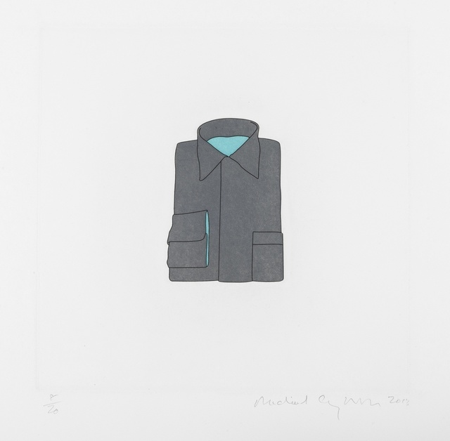 Michael Craig-Martin, 'Shirt (from the Catalan Suite)', 2013, Forum Auctions
