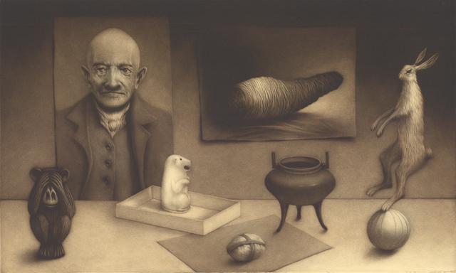 , 'Arrangement with hare ,' 2018, Kunstverket Galleri