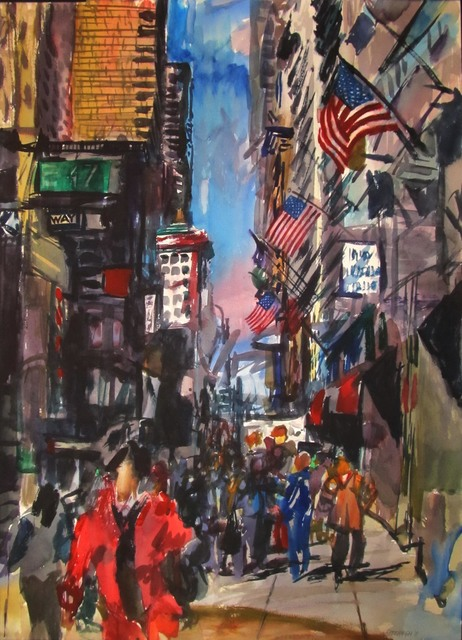 , 'New York Manhattan 47th Street,' , Zenith Gallery