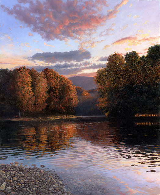 Timothy Barr, 'River Reflection', not dated, Somerville Manning Gallery