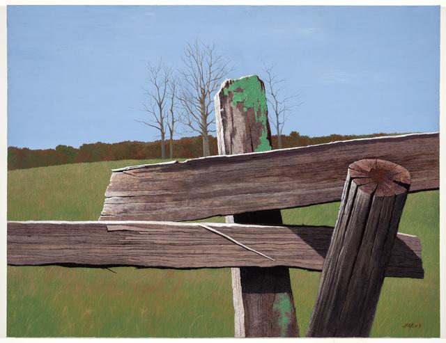 , 'Edges at Atietum ,' 2011, Mac-Gryder Gallery