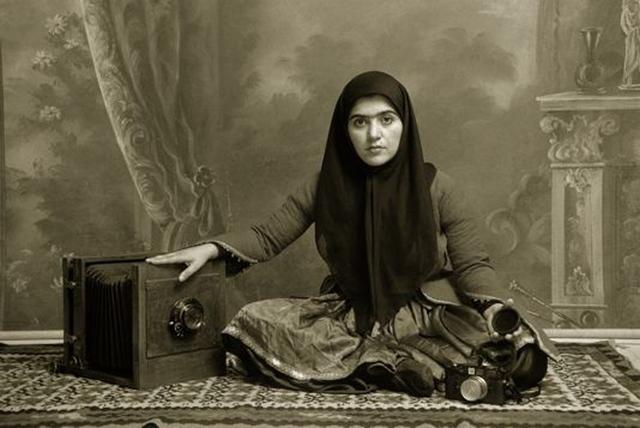, 'Qajar #19,' 1998, Officine dell'Immagine