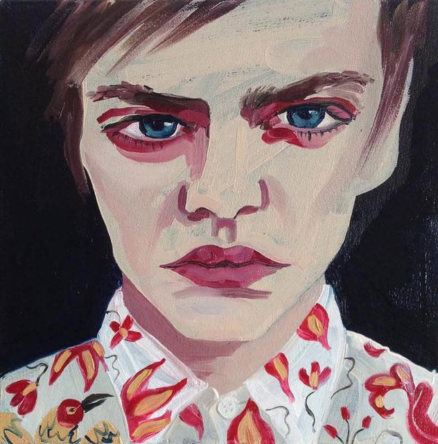 , 'Pawel,' , James Freeman Gallery