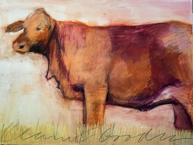 , 'Red Heifer,' 2018, Carter Burden Gallery
