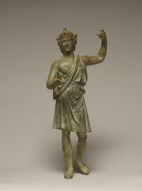 'Statuette of Roma or Virtus',  50 -75, J. Paul Getty Museum