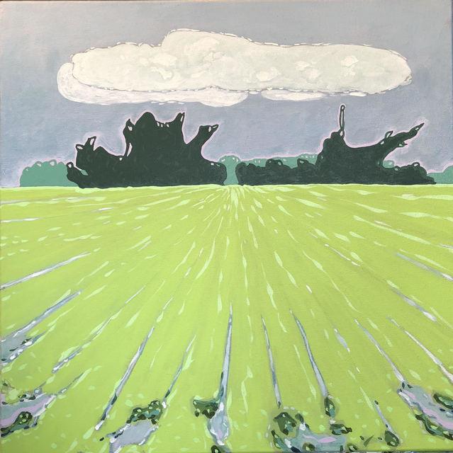 , 'Tree Line Kudzu,' 2018, The George Gallery