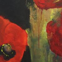 , 'Poppy Flame,' 2015, Winsor Gallery