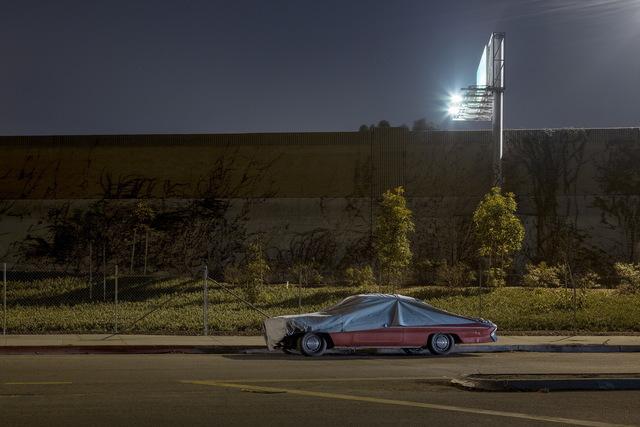 , 'Sleeping Car, Sawtelle Boulevard,' 2012, Fahey/Klein Gallery