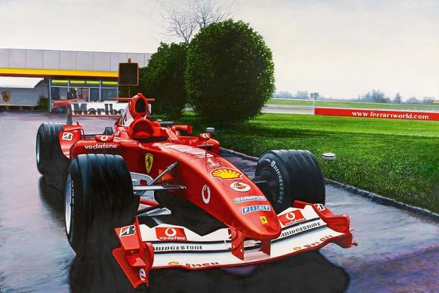 Tom Blackwell, 'Ferrariworld, Fall', 2006, Painting, Oil on canvas, Van Ham
