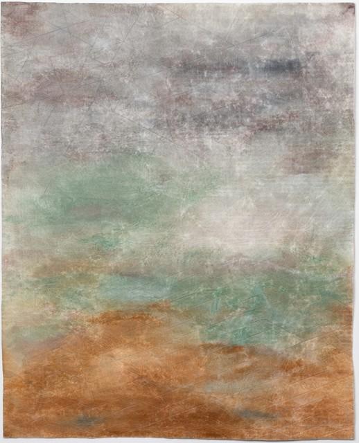 Raul Walch, 'NonWoven Semaphore: Maloja', 2020, Mixed Media, Non-woven fabric, earth pigments, acrylic, thread, Aki Gallery