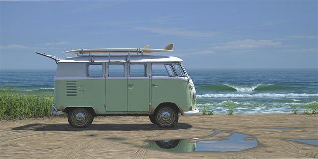 , 'Beach Bus,' 2017, Quidley & Company