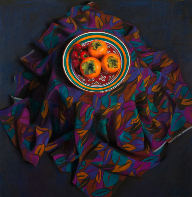 , 'Persimmons and Peppers,' 1999, Vose Galleries