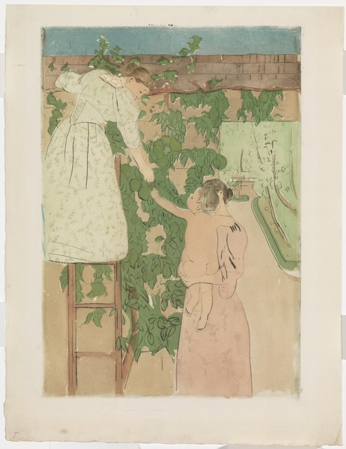 , 'Gathering Fruit (Le Potager),' 1893, Adelson Galleries