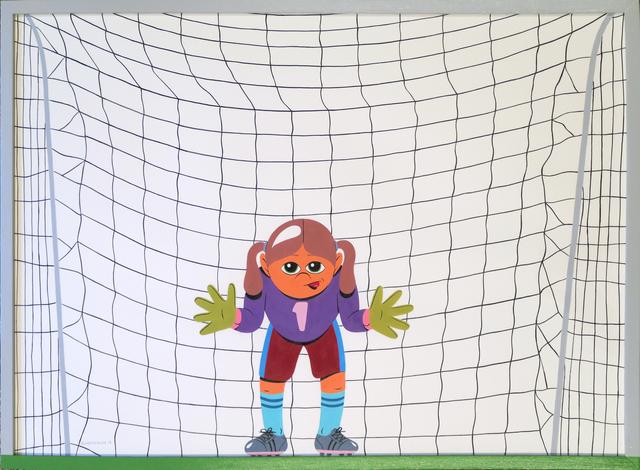 HuskMitNavn, 'Goalkeeper', 2017, V1 Gallery