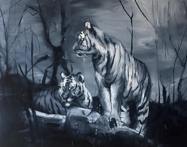 , 'Tigres V,' 2018, Mazel Galerie