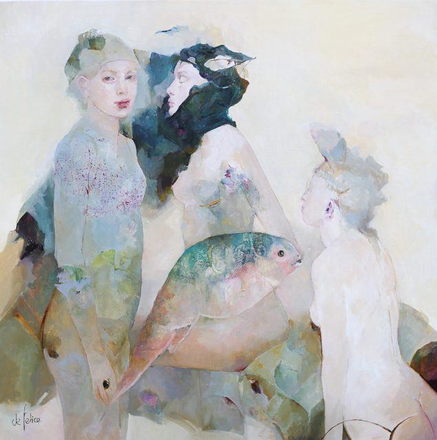 , 'Attirance,' 2019, Galerie Calderone