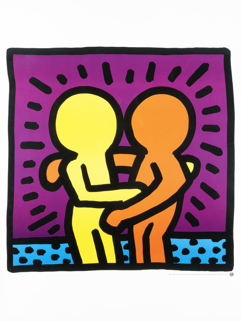 Keith Haring, 'Untitled (Best Buddies)', 1987, Tate Ward Auctions