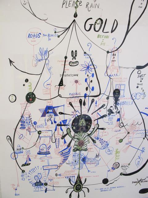 , 'Please Rain Gold,' 2005, Wilding Cran Gallery