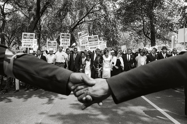 , 'Jackie Robinson, Rosa Parks, and Other Activists March on Washington,' 1963, Fahey/Klein Gallery