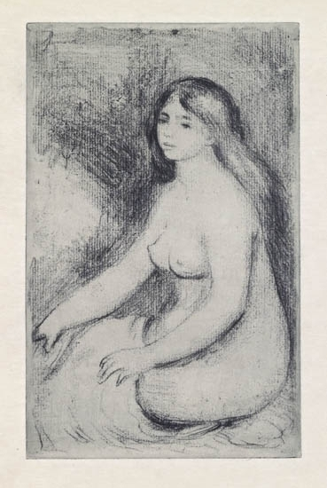 , 'Seated Bather,' 1897, Galerie d'Orsay