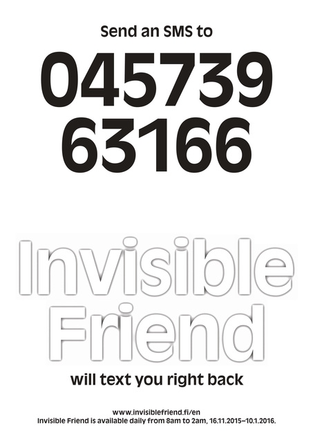 , 'Invisible Friend,' 2015, Helsinki Contemporary