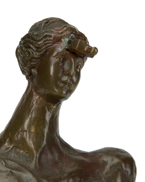 Salvador Dalí, 'Earth Mother', Sculpture, Bronze with applied finish on a marble base, John Moran Auctioneers