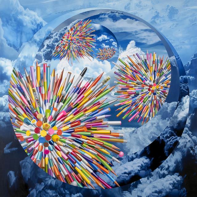 , 'Pens-Six Celestial Bodies,' 2014, Hakgojae Gallery